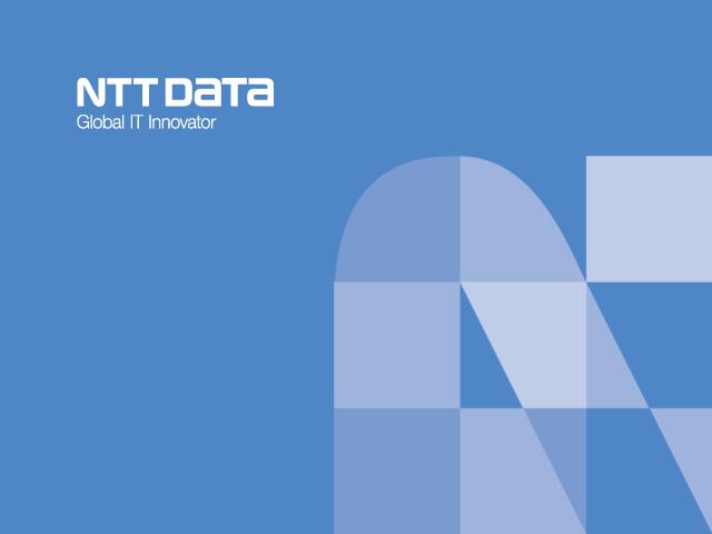 NTT DATA TAIWAN 響應式網頁設計